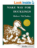 Blueberries For Sal; One Morning In Maine; Make Way For Ducklings, by Robert McCloskey (E-book)